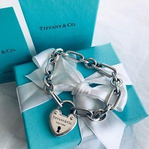 Tiffany arch lock bracelet